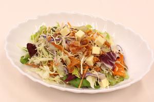 市田柿のサラダ