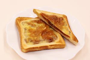 市田柿チーズトースト