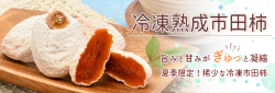 冷凍熟成市田柿トップバナー