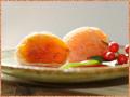 ジュウシーで濃厚な果肉の市田柿